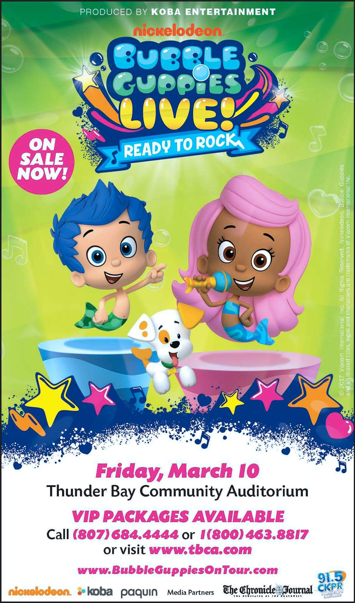 Bubble Guppies Live! | tbshows