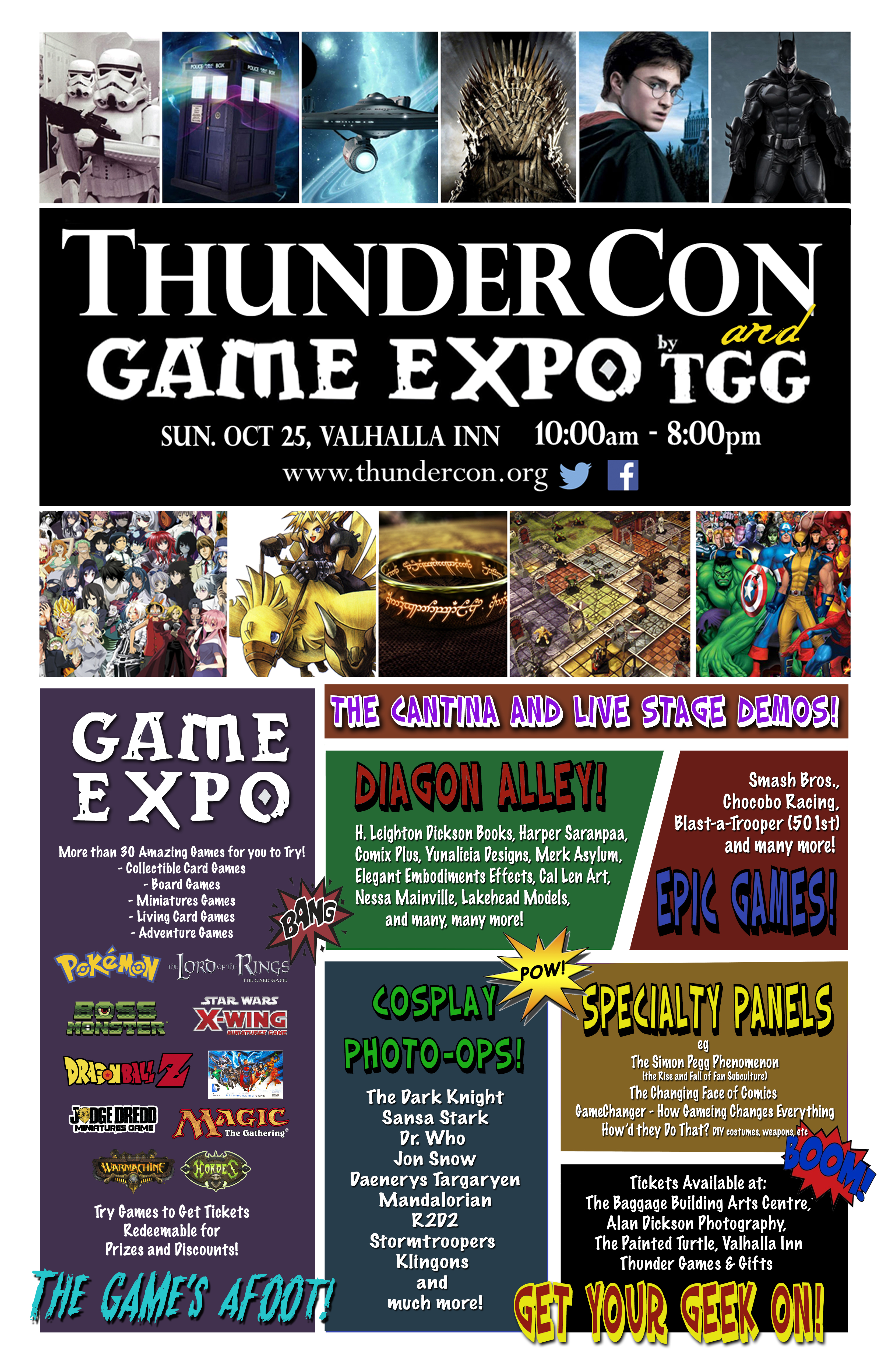 thunder con and game expo by thunder games gifts tbshows